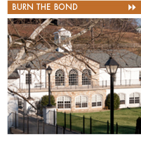 Button for Burn the Bond Rodney Academic Building